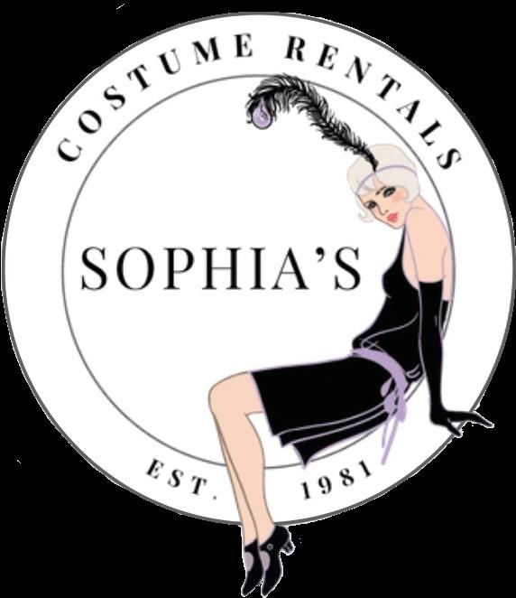 Sophia's Costume Rentals logo